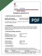 ESPUMANTE AEROFROTH 65