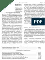 Real Decreto 295 2004 Cualificaciones profesionales   Transporte Sanitario