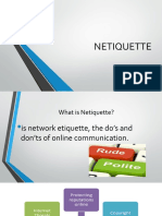 Lesson 2 - Netiquette Con...
