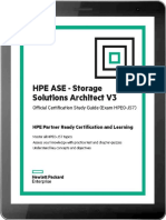 HPE ASE - Storage Solutions Architect V3 Technet24