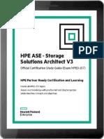 HPE ASE - Storage Solutions Architect V3 Technet24