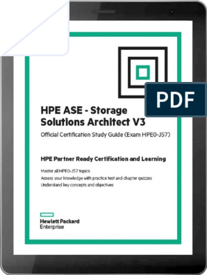 HPE ASE - Storage Solutions Architect V3 Technet24 | Backup