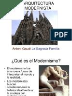Arquitectura modernista.