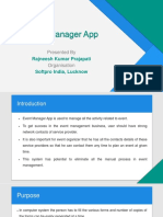 Event Manager PPT