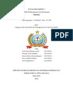 Tugas Kelompok III Organisasi Unit Kerja RMIK Dan Pembagian Kerja Di Unit Kerja RMIK