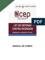 Manual de Campo Ley de Defensa Contra Incendios 2