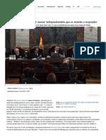 Juicio Procés_ El Supremo Pone Firme Al 'Mosso' Independentista Que Se Resistía a Responder _ España
