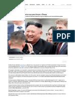 Kim Jong-un Juega La Carta Rusa Para Frenar a Trump _ Internacional
