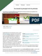 La Propaganda de Vox Inunda La Principal Web de Películas Pirata _ Tecnología