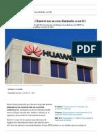 Reino Unido Dará a Huawei Un Acceso Limitado a Su 5G _ Innovación