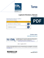 Tarea.legislación Monetaria y Bancaria