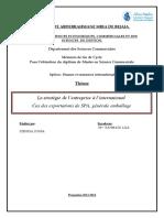 La stratégie de l'entreprise à l'international .pdf