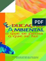 Educação ambiental - oque se pensa e  que se faz.pdf