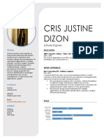 Cris Justine Dizon