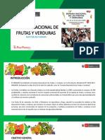 Propuesta Semana Nacional de Frutas y Verduras 2019 FyV
