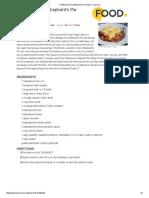 Traditional Irish Shepherds Pie Recipe - Food.pdf