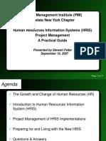 HRIS Implementation