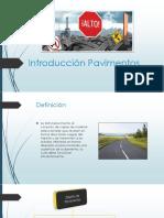 Introducción Pavimentos