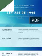 LEY 256 DE 1996.pdf