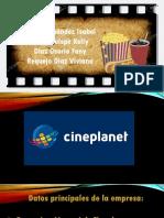 Análisis de cineplanet