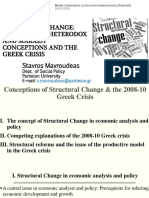 Concepts of Structural Change - lecture in Universidad Computense Madrid 2019