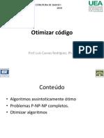 A02-3 Otimizar Codigo