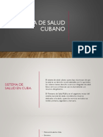 Presentacion Sistema de Salud Cubano