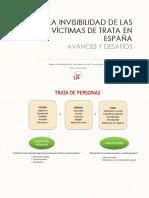 La invisibilidad de las víctimas de Trata en España. Avances y Desafíos.