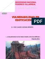 vulnerabilidad en edificaciones