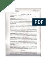 Acuerdo de Veda 2010