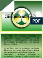 Variedades Lingüísticas en El Ecuador