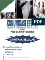 Komunikasi Efektif (Kedokteran-2013)
