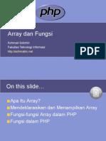 05  Array dan Fungsi