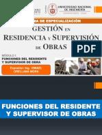 Funciones del Residente y Supervisor de Obras.pdf