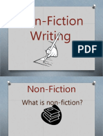 nonfiction - intro to nonfiction writing ppt