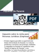 Impuesto Sobre La Renta Panama