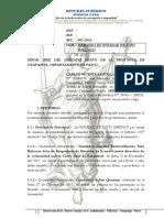 Demanda de Nulidad de Acto Juridico Por Falta de Consentimiento de La Voluntad