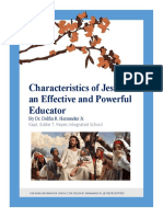 Characteristics of Jesus as an Effective and Powerful Educator-Title.docx