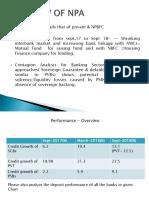 Npa Overview