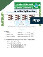 Ficha Que Es La Multiplicacion Para Tercero de Primaria