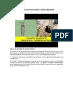 Cimentaciones en Terreno Inclinado, Muros