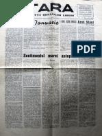Tara anul II, nr. 10, ianuarie 1950