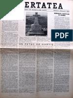 Libertatea anul IV, nr. 29-30, Ian. - feb. 1954