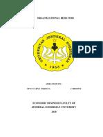 ORGANIZATIONAL BEHAVIOR.docx
