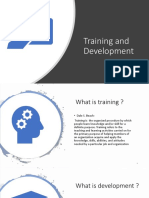 Training and Development (1)