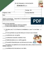 Evaluación de Lenguaje y Comunicacióneldoctor