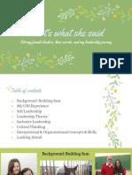 leadership portfolio  1