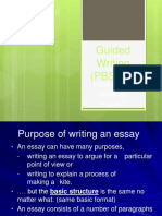 Power Writing - Essay Workshop 15 April 2014 LATEST 2