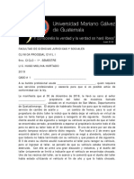 Casos Clinica Procesal Civil i - 2019