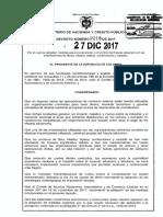 Decreto 2218 Del 2017